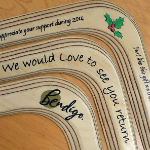 Personalised Boomerangs